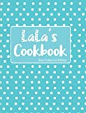 LaLa's Cookbook Blue Polka Dot Edition