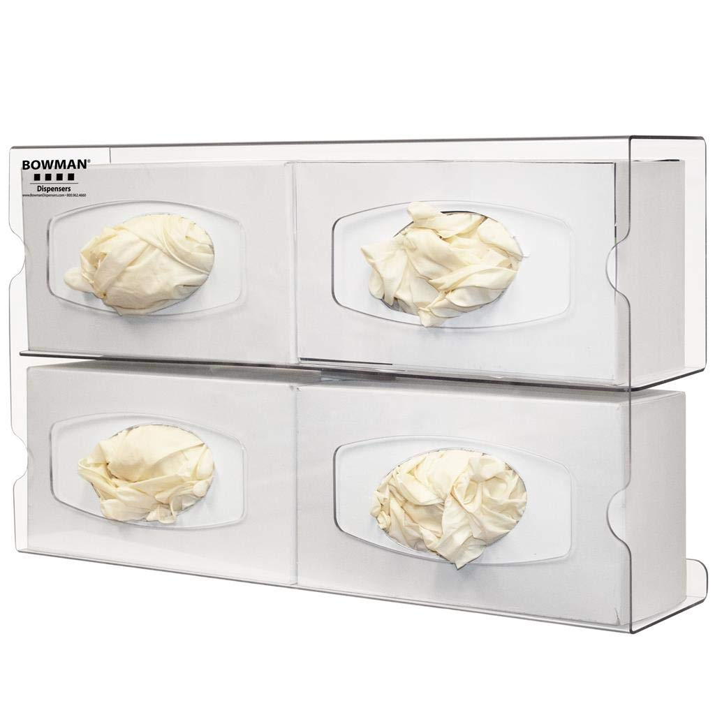 New arrival Glove Box Dispenser - Quad Holds Four Load of Directly managed store Side Gloves Boxes