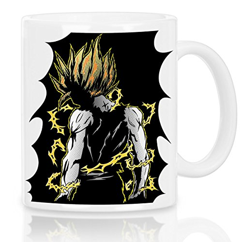 style3 Goku Pop-Art Power Tasse avec motif