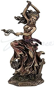 WU OYA African Goddess of Wind, Storm & Transformation Statue