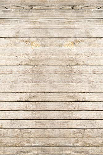 KonPon Fondo de madera para fotografía, fondo de vinilo, fondo de madera, fondo, fondo, fotografía, estudio, fotografía y fondo KP-082