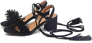 nuovo stile 51ea1 3dd85 Amazon.it: scarpe con frange - Sandali / Scarpe da donna ...