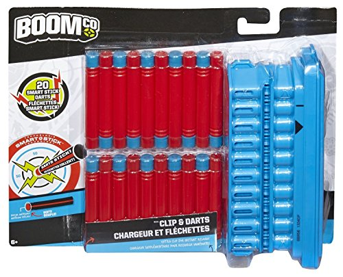BOOMCO - Cargador Y Dardos (Mattel BBR56)