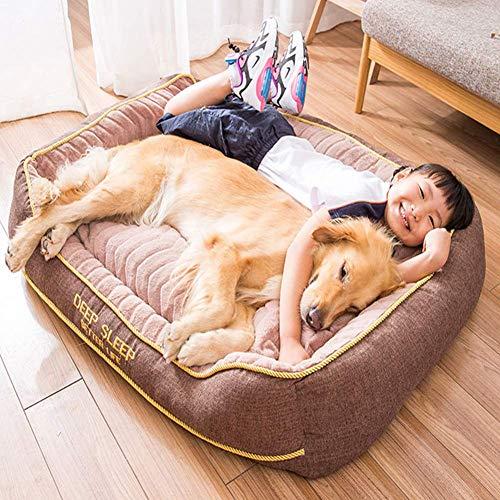 Cama para Perros Perros de tamaño Mediano, XXL Jumbo Extra Grande de...