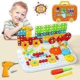 LEADSTAR Juguetes Montessori Puzzles 3D Mosaicos Rompecabezas Bloques Construccion Niños ...