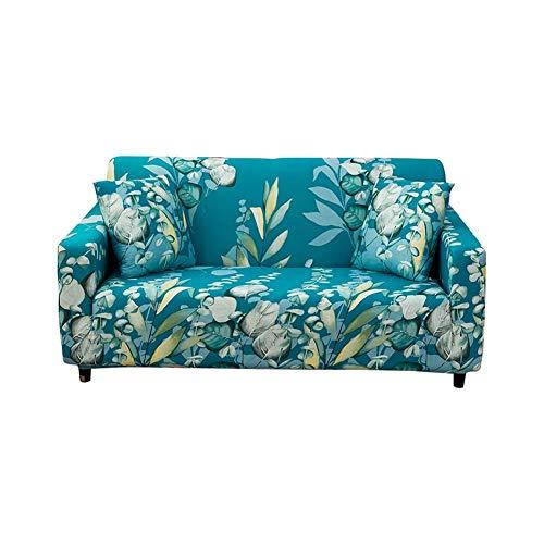 TARTIERY - Funda elástica para sofá o sofá con funda protectora antideslizante y elástico todo incluido, tela jacquard lavable