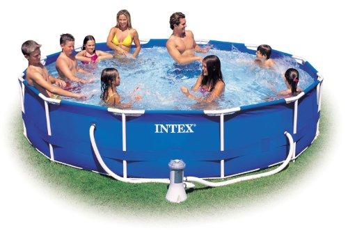 Frame intex pool 457x91 c / pump