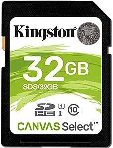 Kingston 32GB Class SDHC Memory Card For Canon EOS 450D Digital Camera...