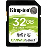 Kingston 32GB SD HC SDHC Class 10 Memory Card For Canon EOS 700D Digital Camera
