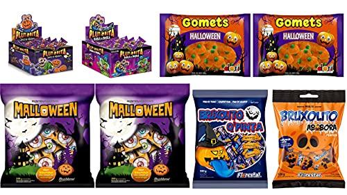 Kit Completo Doces e Balas Halloween   Bruxolito + Plutonita