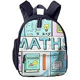 Kinderrucksack Kleinkind Jungen Mädchen Kindergartentasche Maths Doodle Mathematical Backpack Schultasche Rucksack