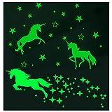 Estrellas Fluorescentes para Techo Estrellas que Brillan en la Oscuridad Pegatinas Estrellas Fluorescentes Pegatinas Pared Pegatinas de Techo para Chico Niña Bebé Decoración de Habitación