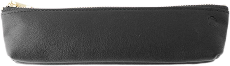 Stifteetui Osl Leder Leder Leder schwarz Osl-1801 B078K497HM   Das hochwertigste Material  b5978f