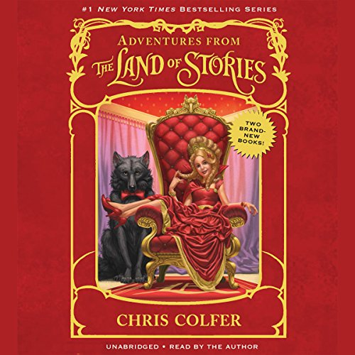 Adventures from the Land of Stories Boxed Set audiobook cover art