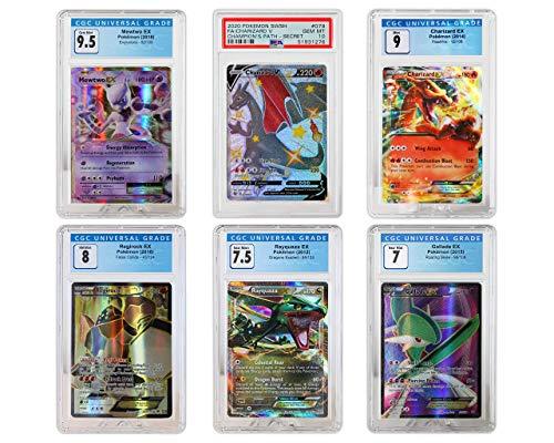 1 Random Graded Ultra Rare Pokemon Card