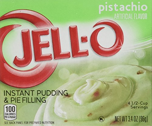 Jell-O Instant Pudding & Pie Filling, Coconut Cream, 3.4-Ounce Boxes (Pack of 4)