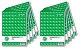 SIGEL KA515/10 - Informe para caja registradora (A5, 10 unidades de 50 hojas)...