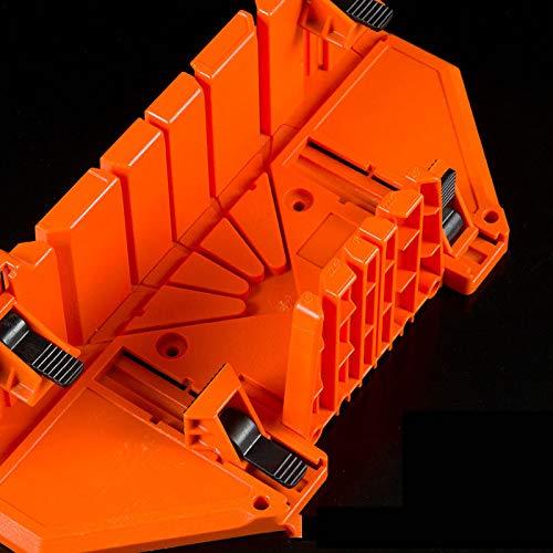 Caja de ingletadora de sujeción, 12/14 pulgadas, caja de ingletes, poda, sierra de mano, herramienta de carpintería, 4 tipos para elegir