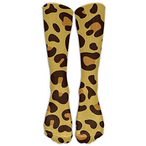 hdyefe Leopard Skin Compression Socks Soccer Socks High Socks Long Socks For Running,Medical,Athletic,Edema,Diabetic,Varicose Veins,Travel,Pregnancy,Shin Splints,Nursing.