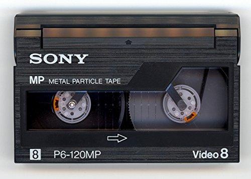 Sony P6-120 MP/3 8MM Standard Grade Videocassettes