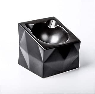 Ljwy Tilt Dog Feeder, Tilt Dog Bowl Cat Food Bowl - Cat Water Bowl Does Not Overflow Wide Mouth Slip Pet Sterile Tableware Supplies