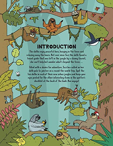Where's the Sloth?: A Super Sloth Search Book (Search and Find Activity)