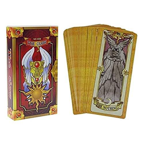 ZFF-DM Cardcaptor Sakura Card Clow Tarjeta Clow Lee, Tarjeta Sakura (Color : Natural)