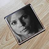 Samantha Womack - Original Art Coaster #js002