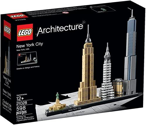 LEGO USA Warehouse 2016 Architecture New York City 21028 New Hard to FIND Great Gift Item NO product image