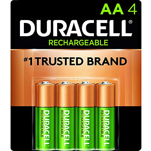 Our #5 Pick is the Duracell - Rechargeable AA Batteries