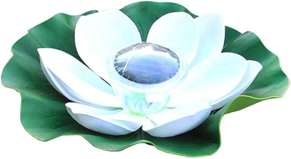 Large special price Pool Floating Lamp Solar Super sale period limited Powered Gar LED Waterproof Lights Lotus