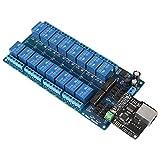 Bewinner Ethernet Control Module,16-Channel Relay Module,RJ45 Interface,Ethernet TCP/IP Re...