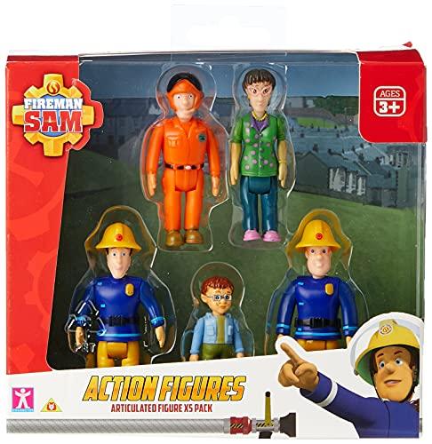 Sam le pompier - figurines, pack de 5