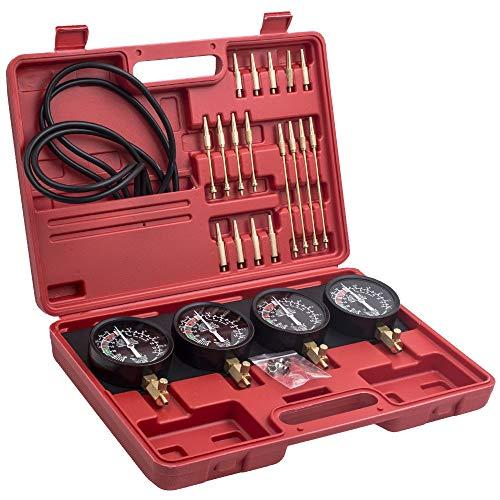 4 Messgeräte Motorrad Kraftstoff-Vakuum-Vergaser Carb-Synchronizer-Werkzeug-Balancer-Messgerät für CB KZ XS 550 650 750 850