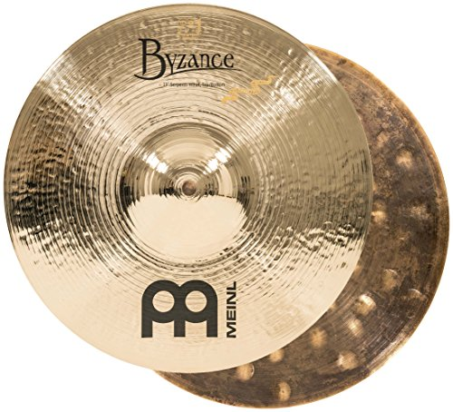 Meinl Cymbals B13SH-B Byzance 13-Inch Brilliant Serpents Hi-Hat Cymbal Pair (VIDEO)