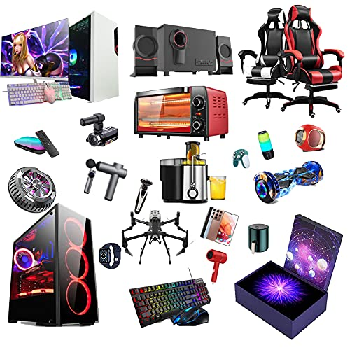 RTEY Elektronische Überraschungsbox, Mystery Box, zufällige Glücksboxen, Mystery Item vieler Stile, wie die neuesten Mobiltelefone, Spielkonsolen usw. A