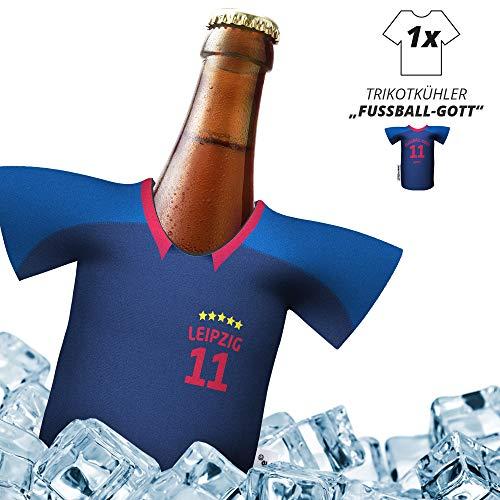 Ligakakao Herren Trikot 2019/20 kühler Home für. RBL-Fans | FUßBALL-Gott | 1x Trikot | Fußball Fanartikel Jersey Bierkühler by