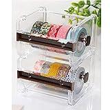 2pcs HomDSim Washi Tape Dispenser Cutter,Roll Tape Holder...