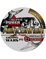 Ashconfish PEライン釣りライン4編 高強度 150M 200M 300M 500M 1000M 0.4号-10号 4本編み X4