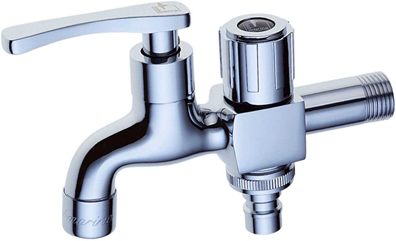 Pengei Tap Basin Mixer Kitchen Sink Mixer Faucet Single Cold Dual Use Splash Proof Water