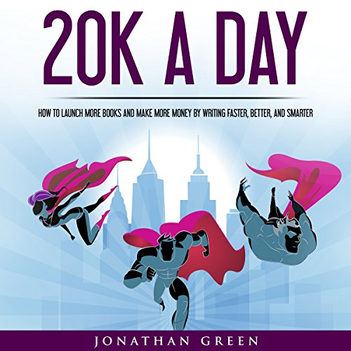 20K a Day audiobook cover art