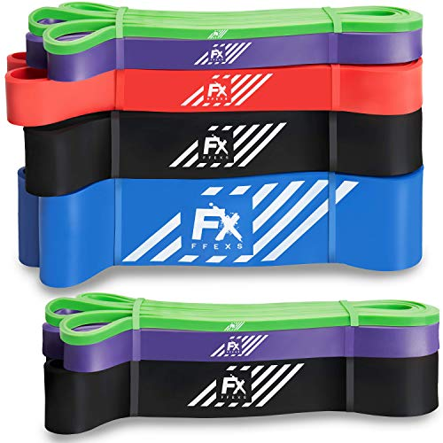 FX FFEXS Premium Pull Up Resistance Bands for Assisted for...