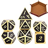Metal DND Dice Set with Foldable Dice...
