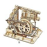 Rompecabezas de madera 3D mecánicos de edificios kits modelo DIY kits modelo de madera del rompecabezas 3D de madera mecánica Engranajes fijada for los varones niñas Amigos Hijo para adolescentes y ad