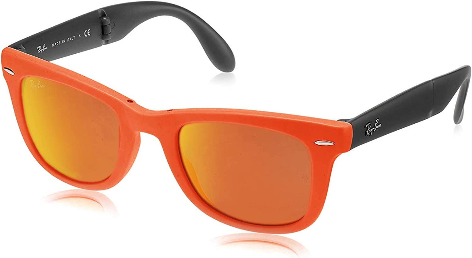Ray-Ban Folding Wayfarer Montures de Lunettes Mixte Orange (601969 601969)
