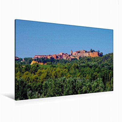 Premium - Lienzo de lienzo (120 x 80 cm, horizontal), diseño de Roussillon de Calvendo Natur