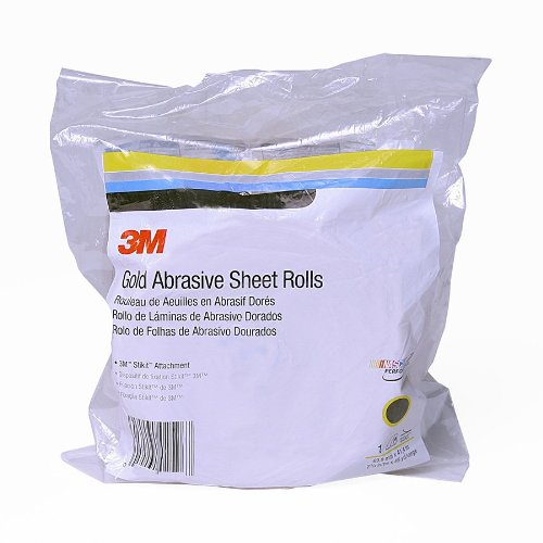 3M Stikit Gold Sheet Roll, 02591, P320, 2-3/4 in x 45 yd