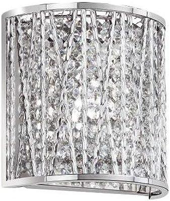 ET2 Lighting E21315-10PC//BUL Inca Bath Vanity Light Fixture Polished ChromeFinish,15.75-Inchby5-Inch Maxim Lighting