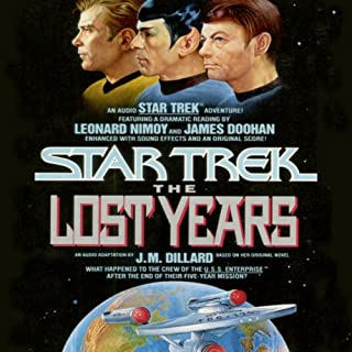 Star Trek X: The Lost Years (Adapted) audiobook cover art
