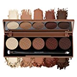 Dose of Colors - Eyeshadow Palette - Baked Browns, 0.3oz